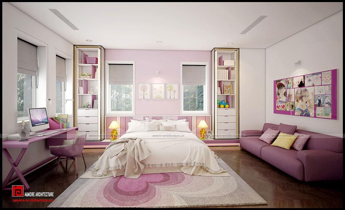 thiết kế nội thất đương đại
