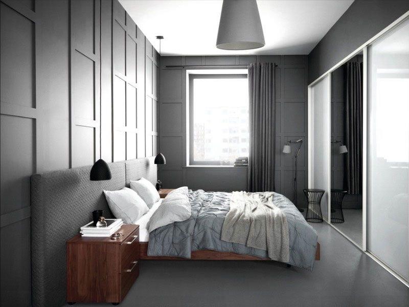 nội thất màu xám