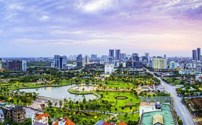 phát triển đô thị ở việt nam