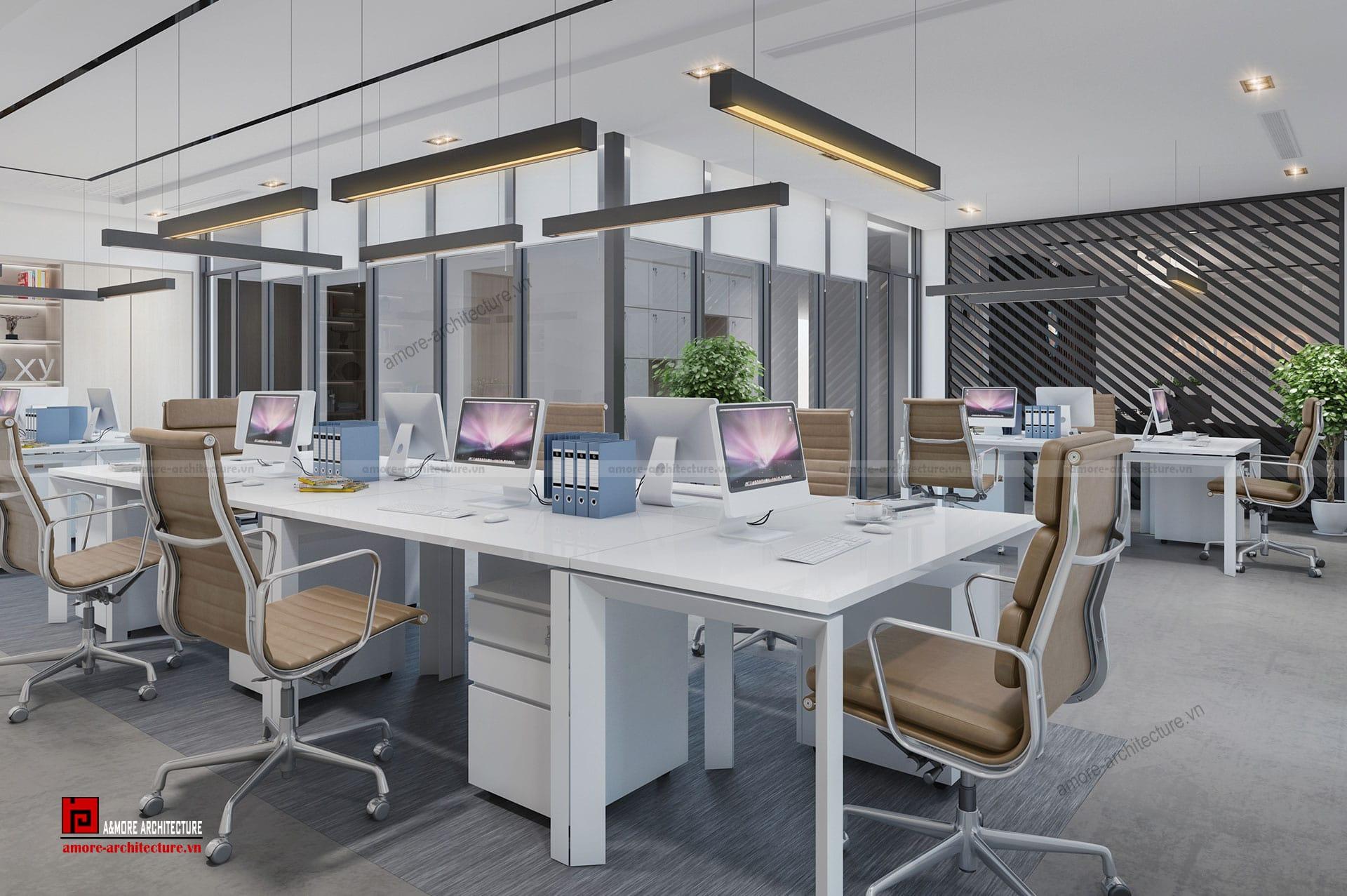 công ty thi công nội thất văn phòng