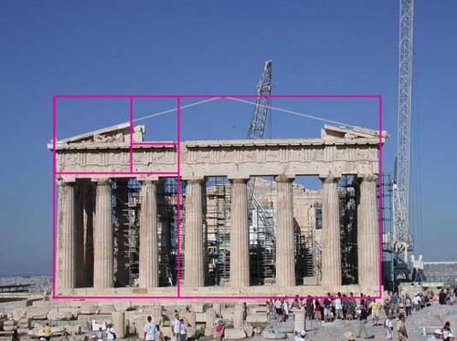 tỉ lệ vàng trong kiến trúc