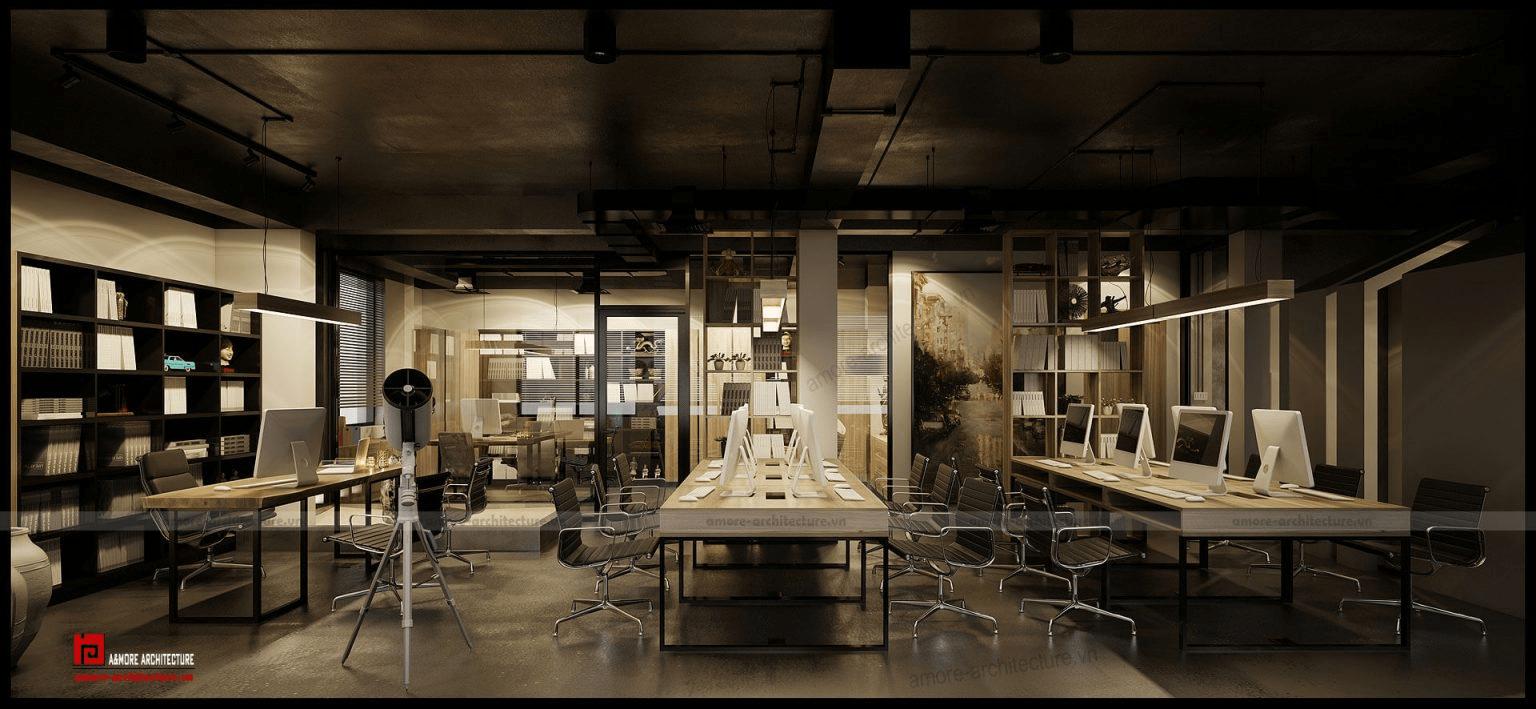 báo giá thiết kế nội thất văn phòng