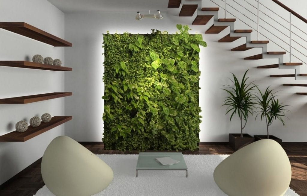 Thiết kế gầm cầu thang theo phong cách Eco
