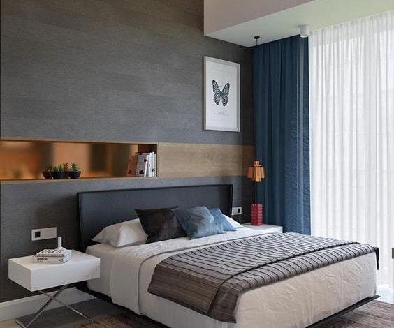 Phòng khách theo phong cách Metallic
