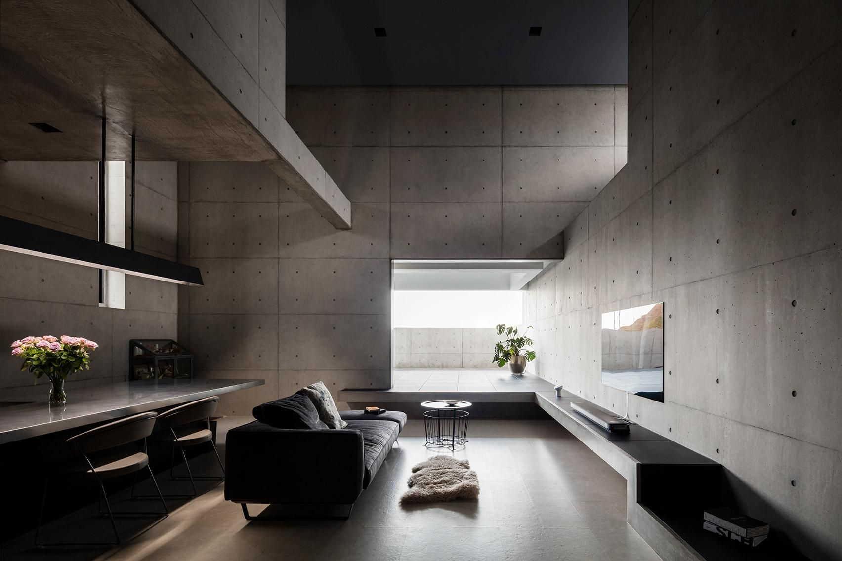 Thiết kế không gian theo phong cách Brutalism