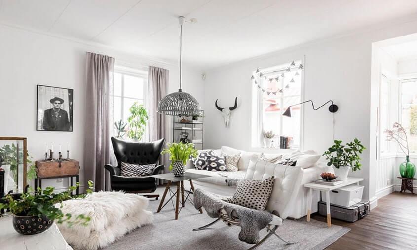 Không gian nội thất theo phong cách Swedish