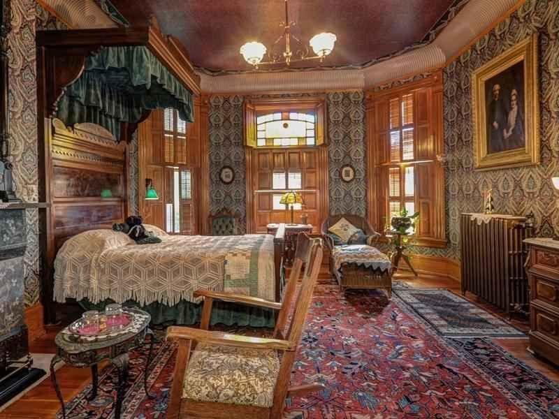 Phòng ngủ theo phong cách Queen Anne