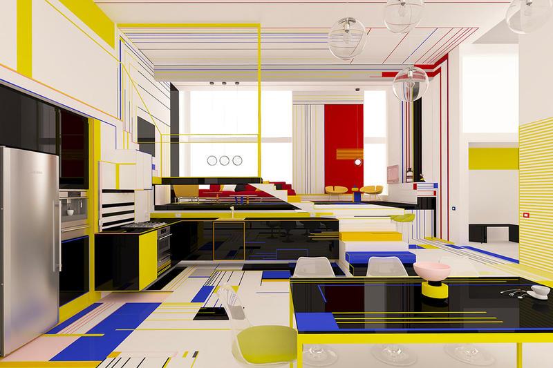Phong cách thiết kế nội thất De Stijl