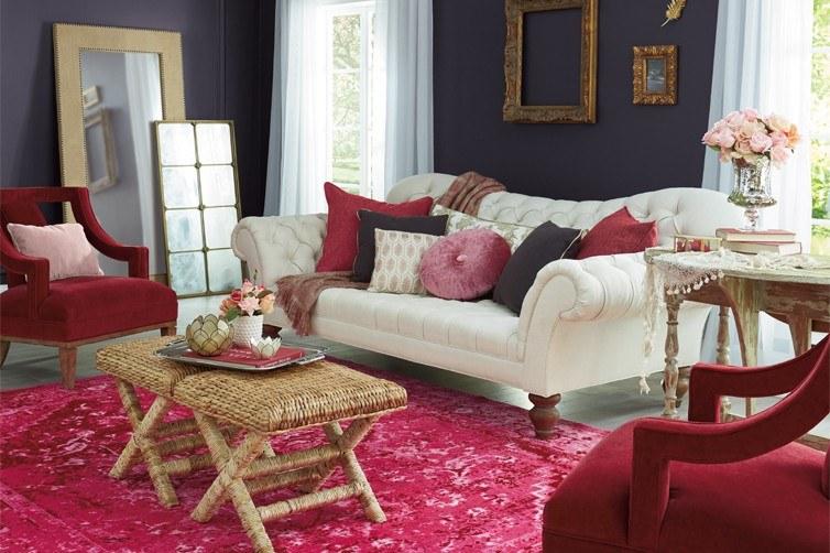 Phòng khách theo phong cách Romanticism