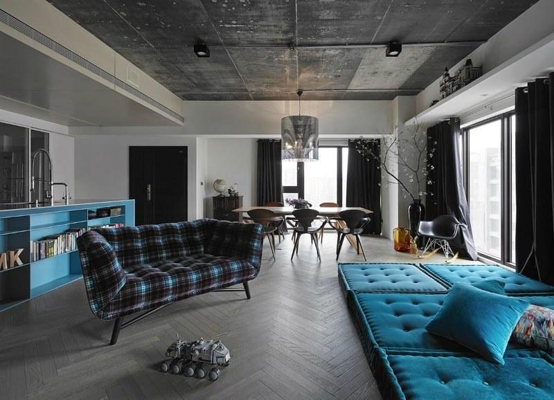 Không gian nội thất theo phong cách Avant Garde