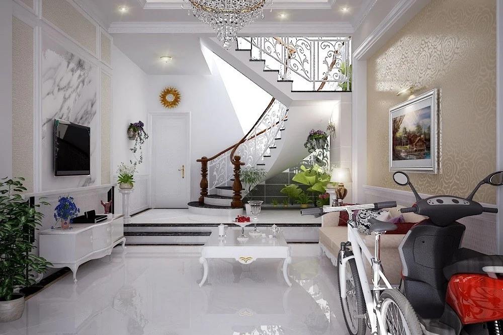 Thiết kế cầu thang cách điệu