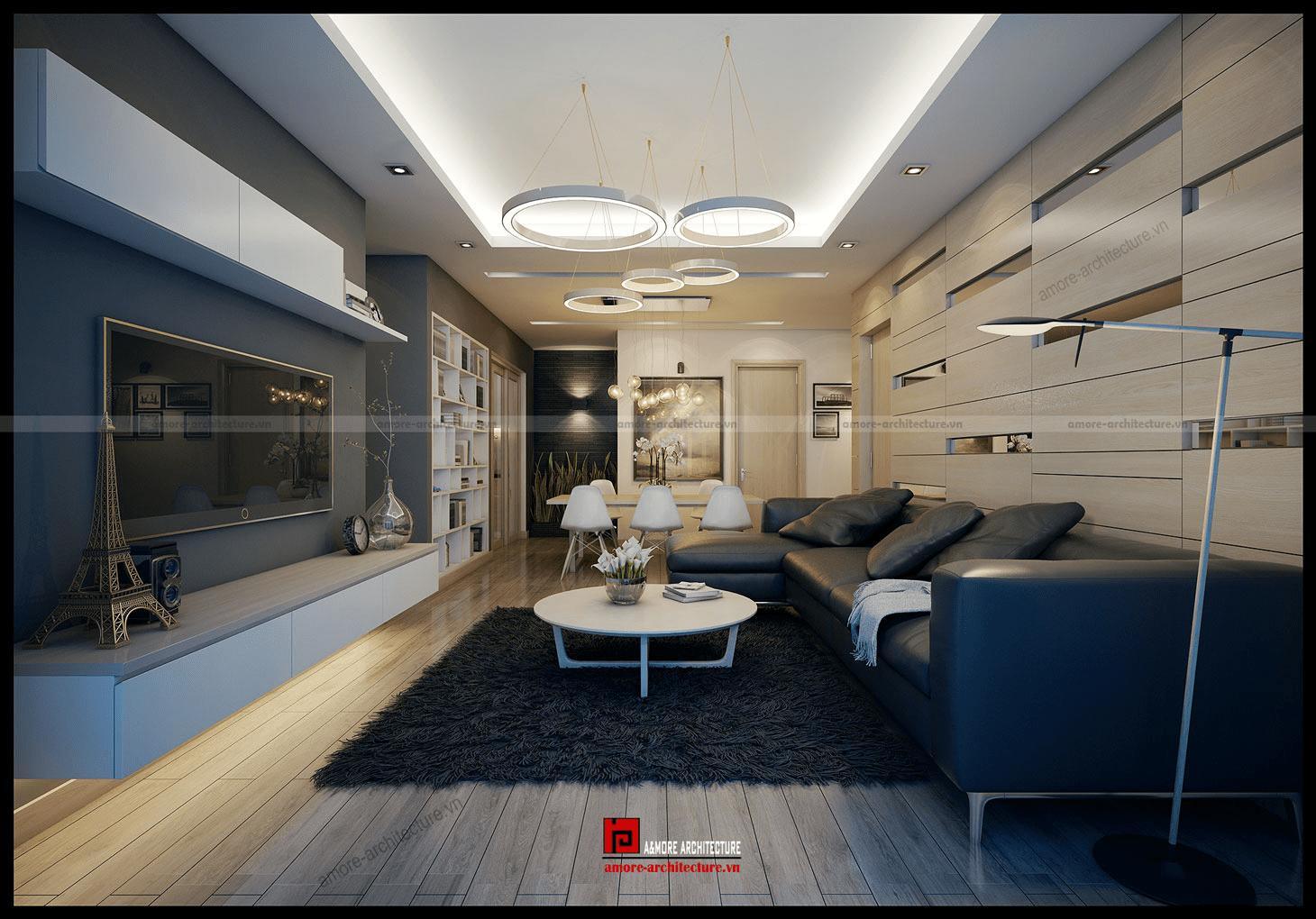 công ty thiết kế nội thất chung cư uy tín