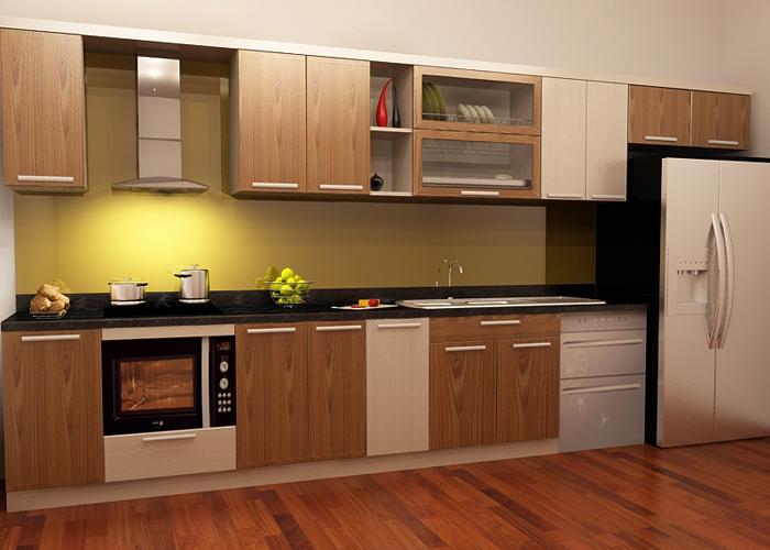 Thiết kế nhà bếp có không gian thông thoáng