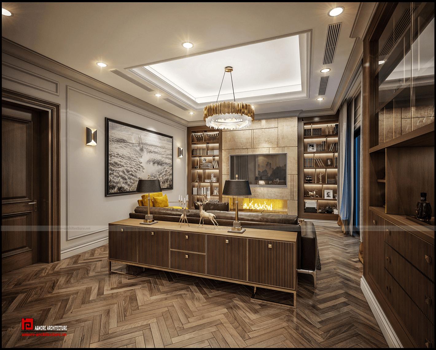 thiết kế nội thất chung cư giá rẻ đẹp, hiện đại