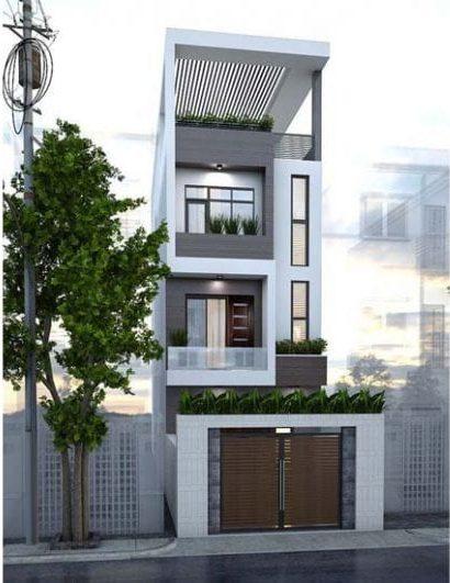 Nhà 5m hiện đại