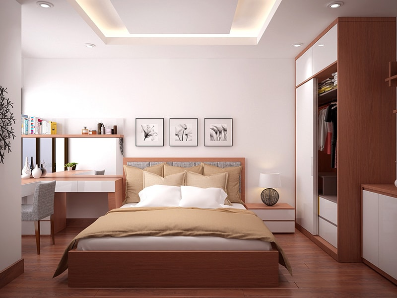 Mẫu phòng ngủ 15m2