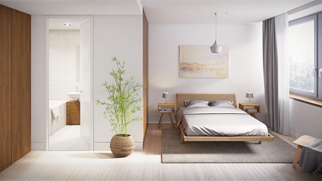 phòng ngủ có thiết kế 9m2