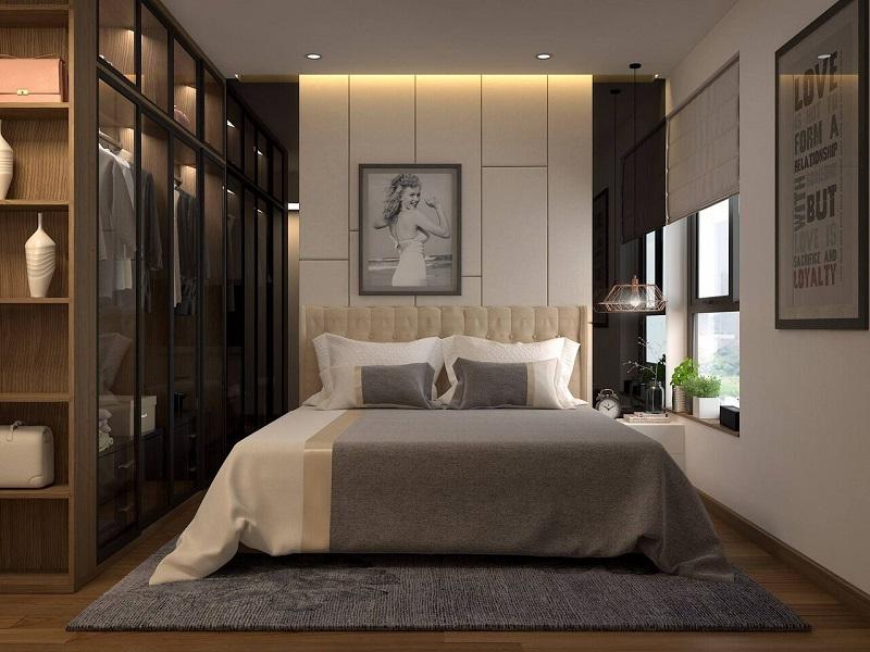 phòng ngủ nhỏ 9m2