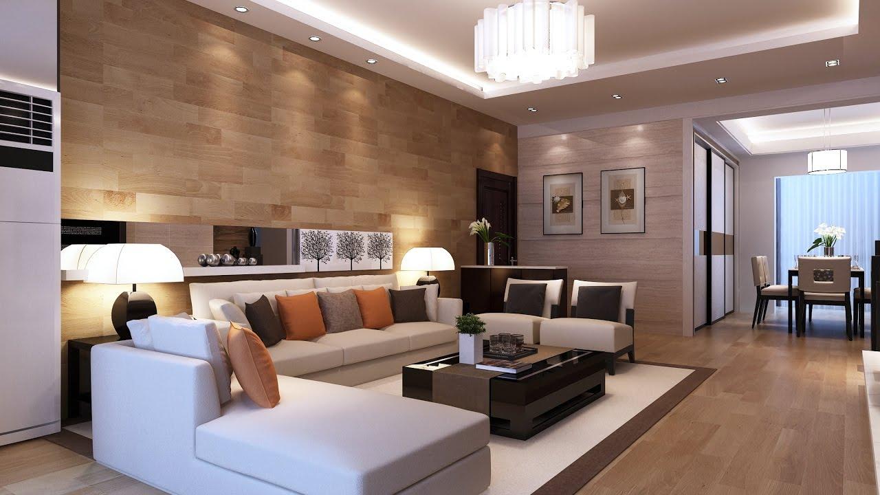 Phòng khách bài trí tối giản