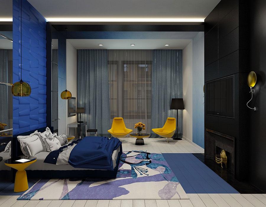 Thiết kế phòng ngủ cho nam