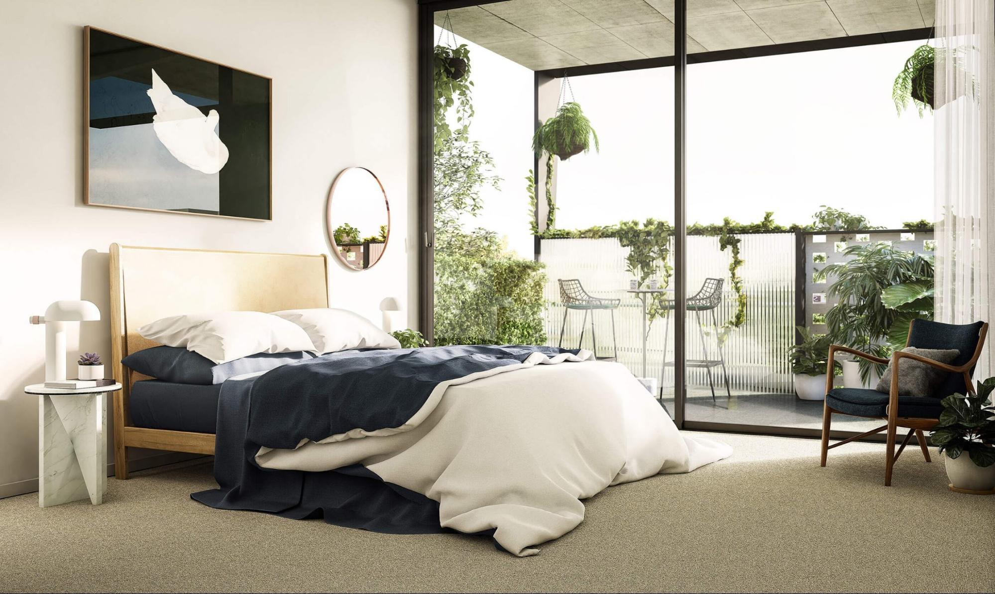 phòng ngủ nhỏ cho nam