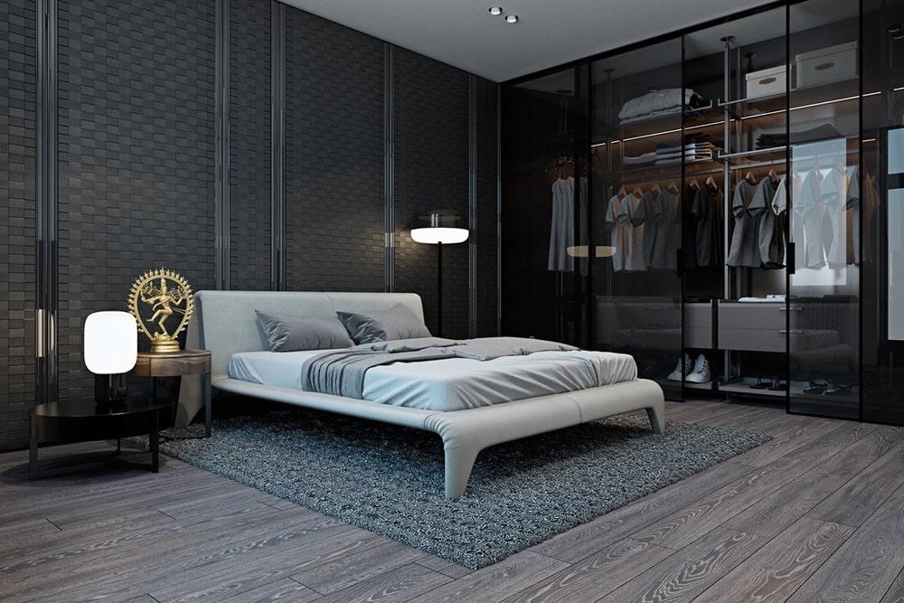 decor phòng ngủ cho nam