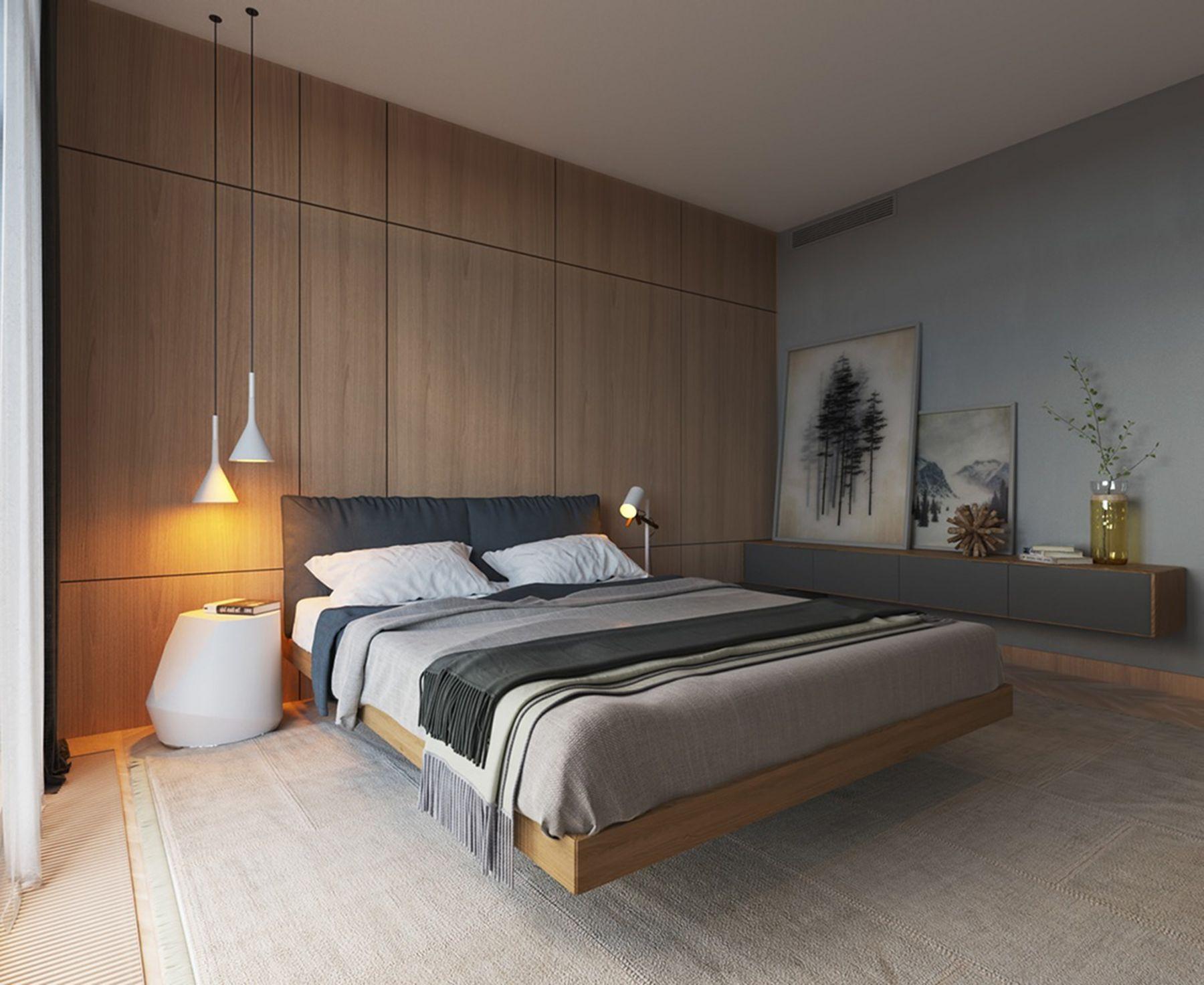 Decor phòng ngủ tối giản