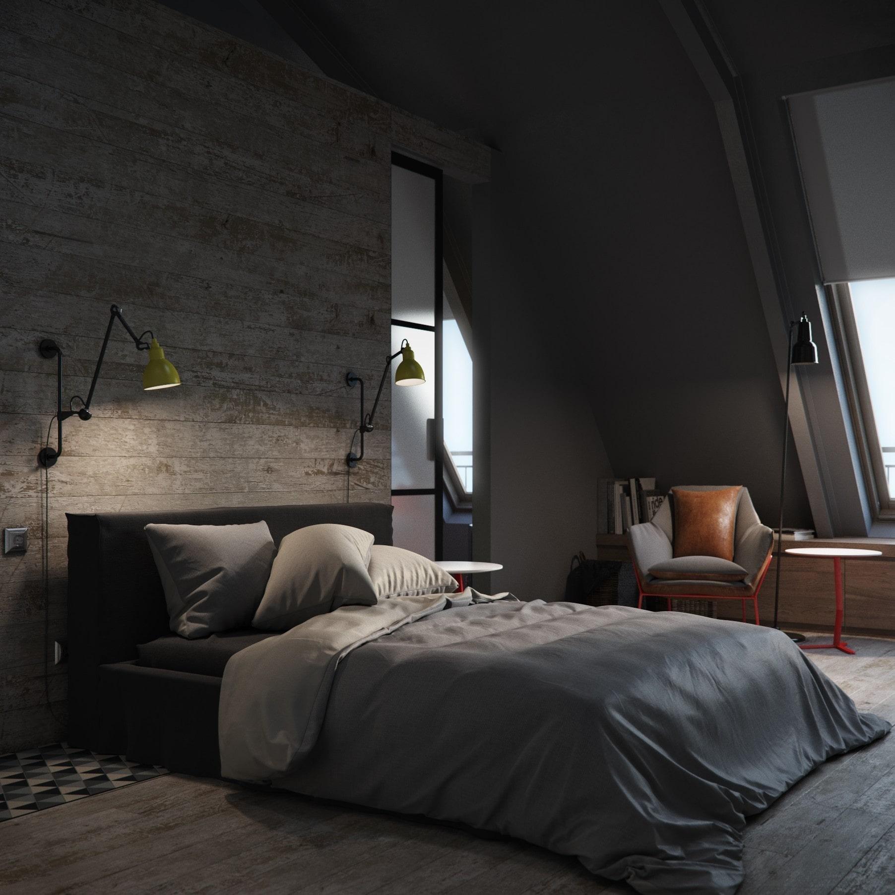 Phòng ngủ cho nam
