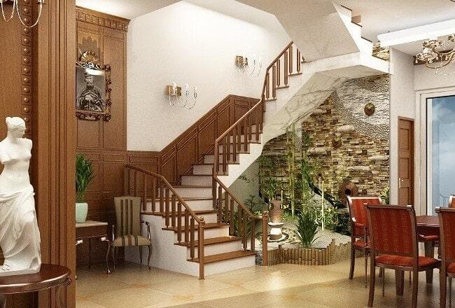 hướng đặt cầu thang trong nhà