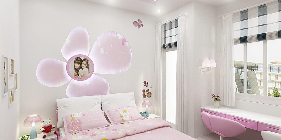 trang trí phòng ngủ cho bé gái 10 tuổi