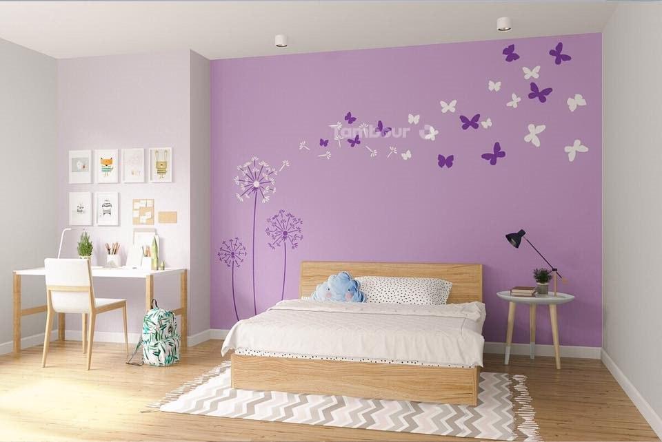 trang trí phòng cho bé gái 10 tuổi