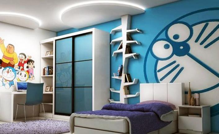 thiết kế phòng ngủ cho bé gái 10 tuổi