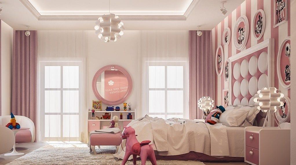 phòng ngủ cho bé gái 10 tuổi