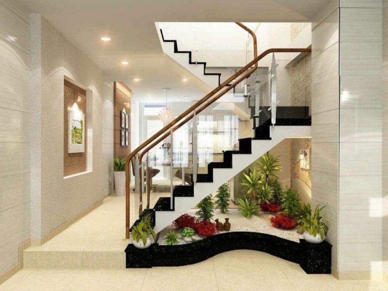 kích thước cầu thang theo phong thủy