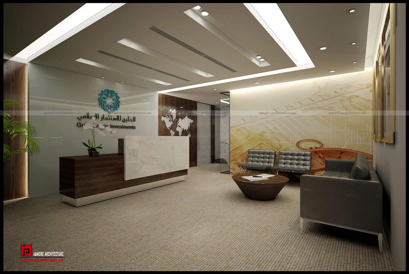 nguyên lý thiết kế nội thất văn phòng