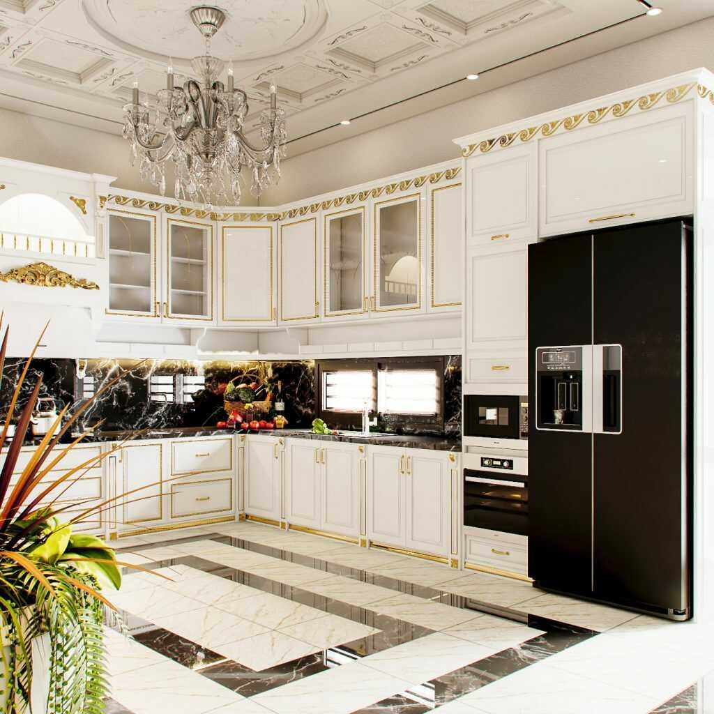 Thiết kế phòng bếp chung cư và những lưu ý cần biết về phong thủy