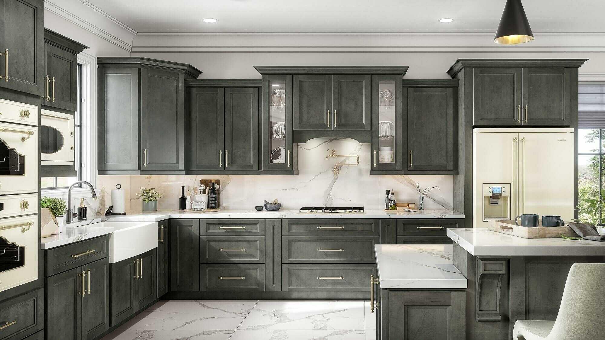 Bố trí nội thất cho thiết kế phòng bếp chung cư