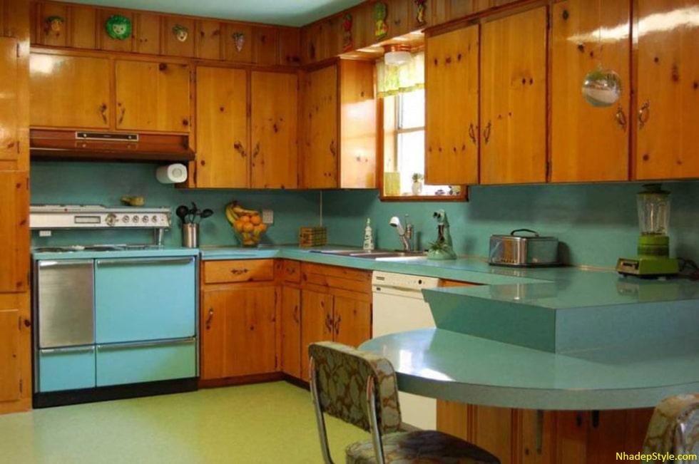 thiết kế phòng bếp có cửa sổ