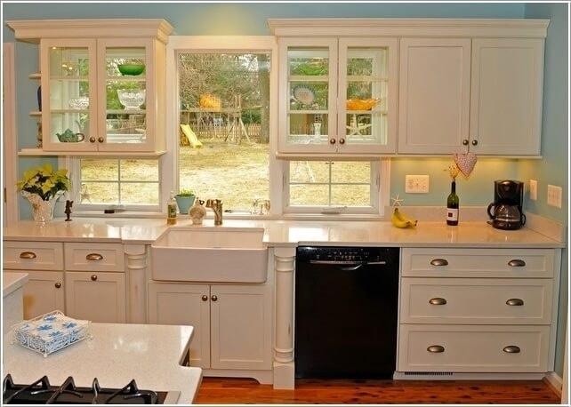 mẫu phòng bếp có cửa sổ