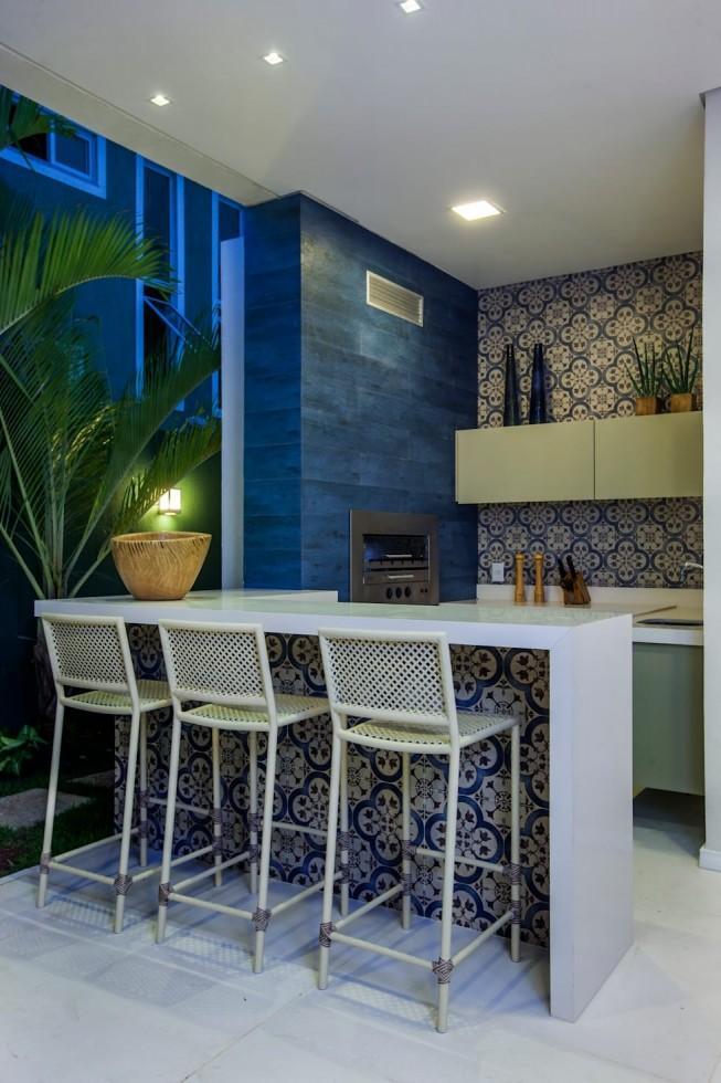 phòng bếp đẹp có quầy bar