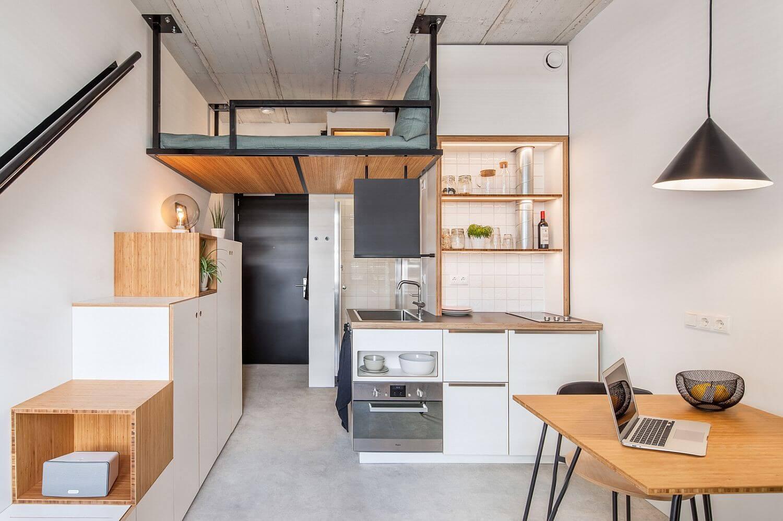 Thiết kế phòng bếp đơn giản