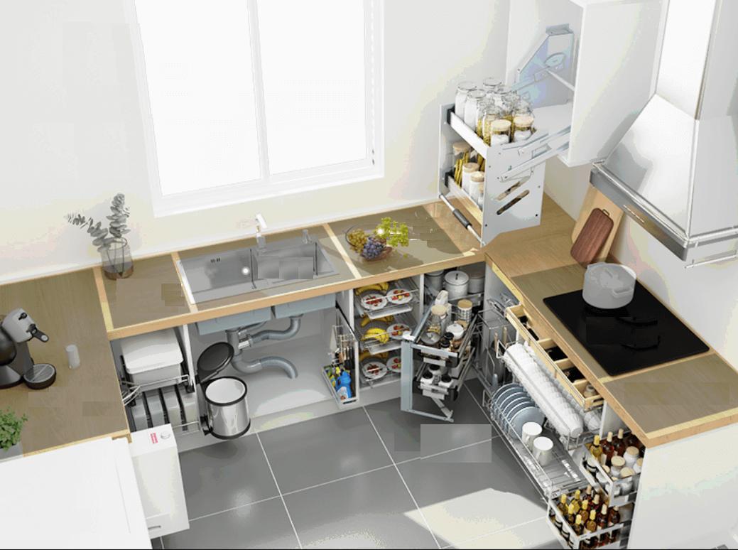 Thiết kế phòng bếp nhà cấp 4
