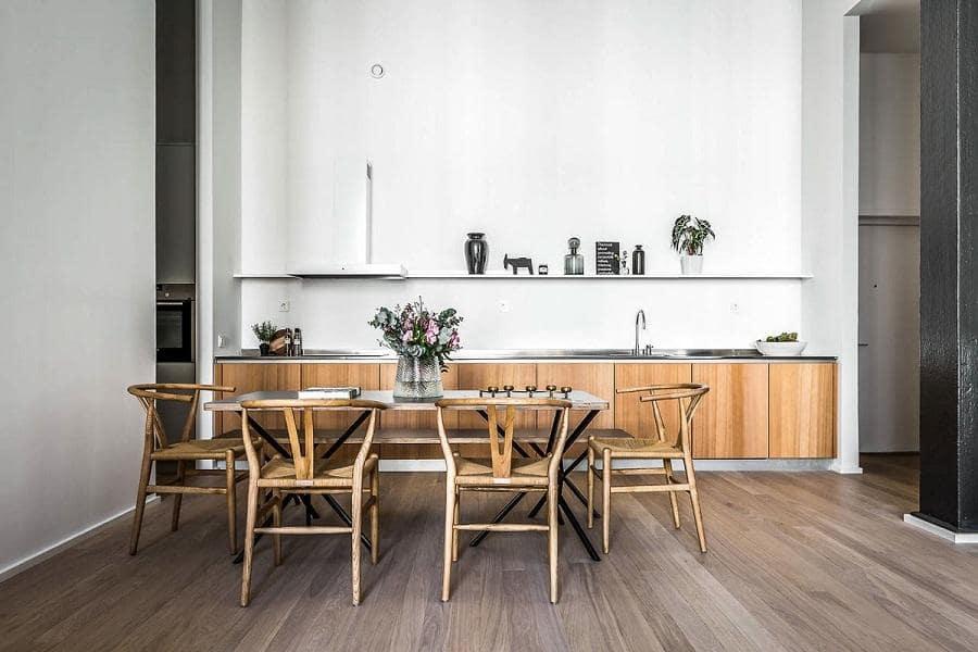 phòng bếp scandinavian