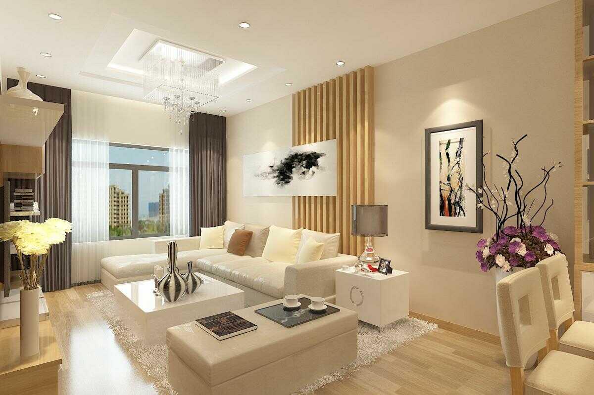 thiết kế phòng khách 16m2