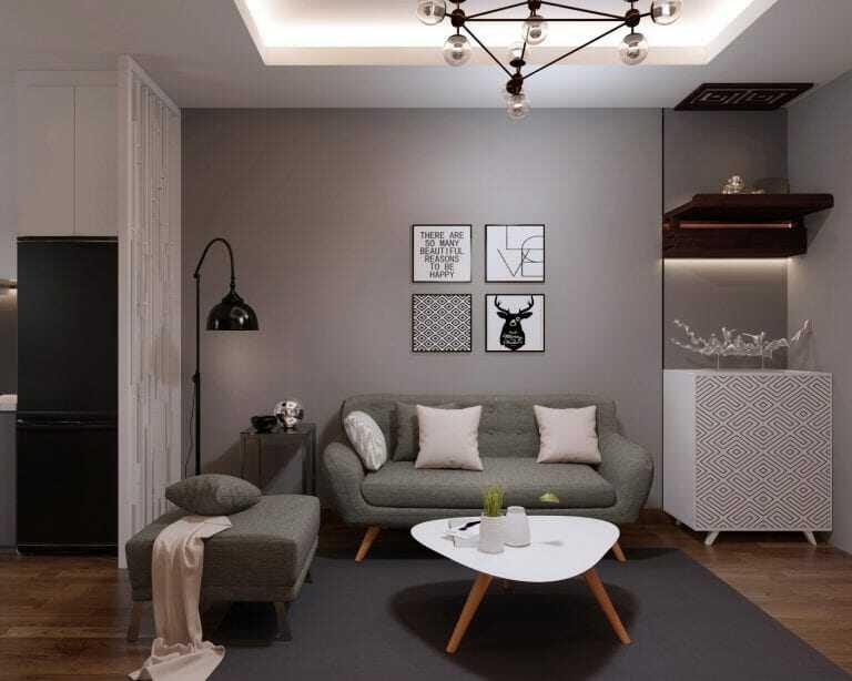 trang trí phòng khách nhà chung cư nhỏ