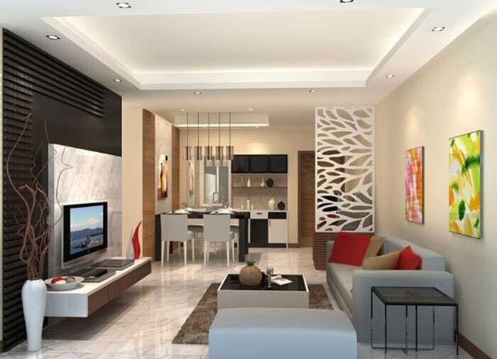 mẫu phòng khách chung cư nhỏ