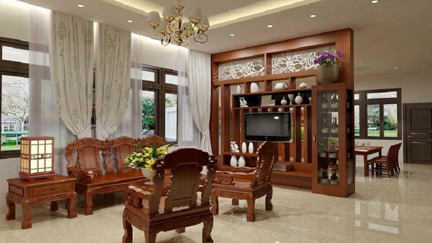 phòng khách Hàn Quốc