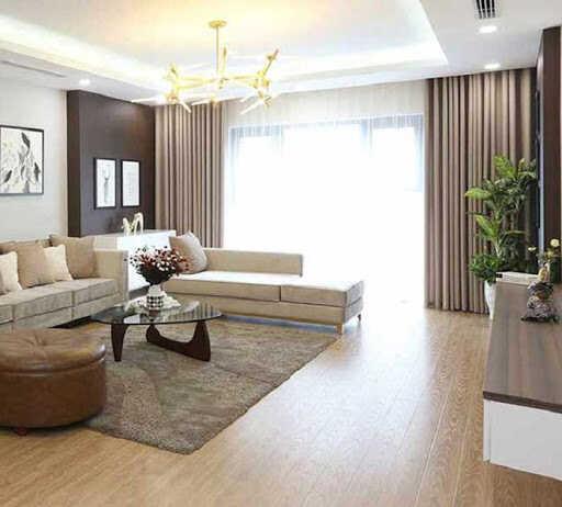 phòng khách Hàn Quốc hiện đại