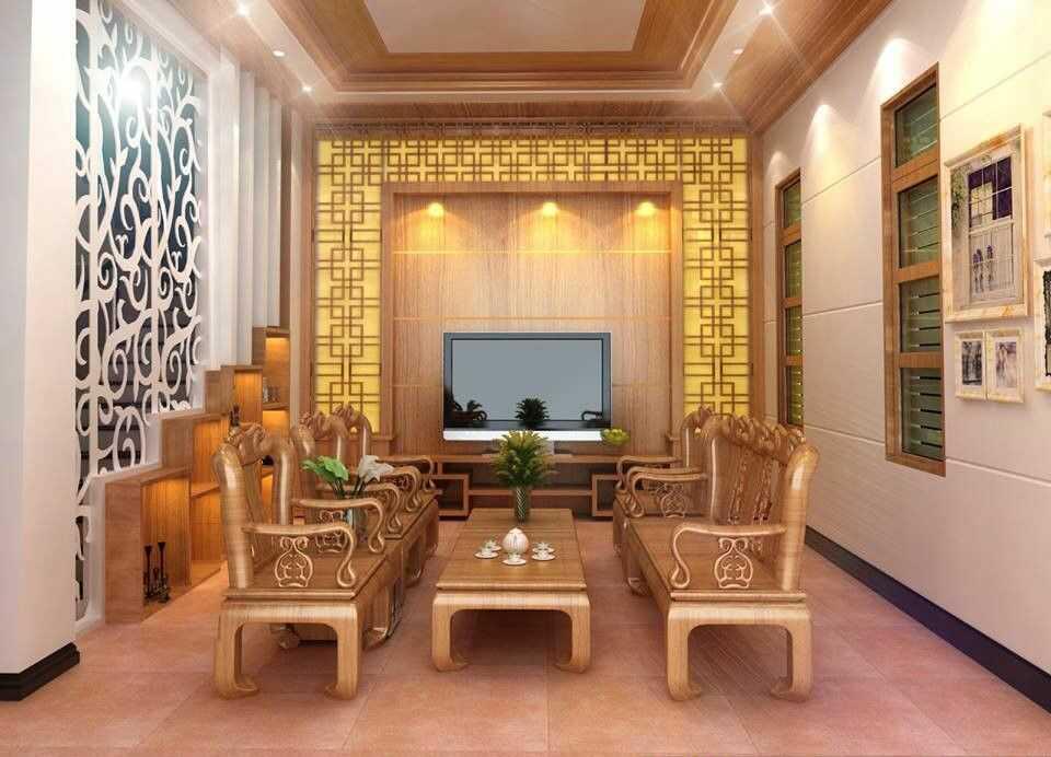 nội thất phòng khách kiểu hàn quốc