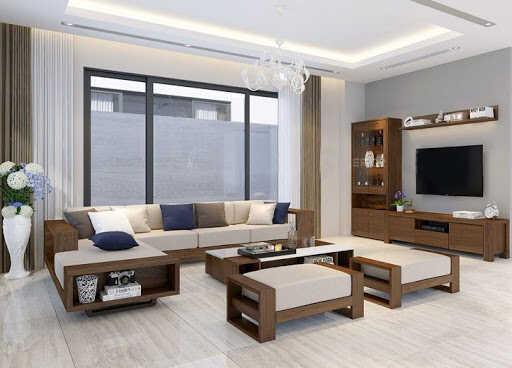 Phòng khách kiểu Hàn